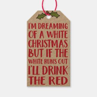 Tag do presente do Natal - etiquetas de suspensão