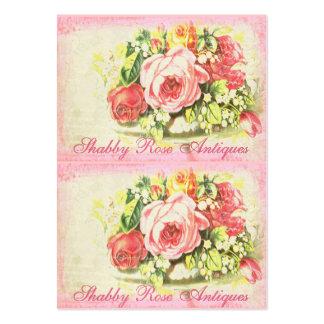 Tag dos cartões da coleção cor-de-rosa gasto de Ve Cartoes De Visita