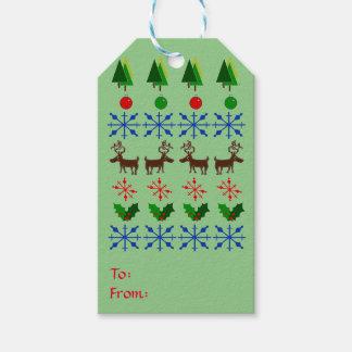 Tag espertos e criativos do presente do Natal