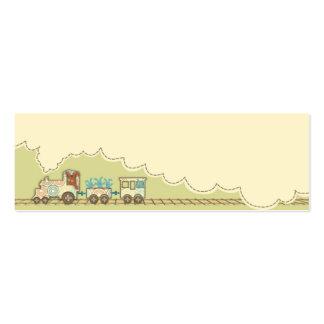 Tag magro 2 do presente do trem de Choo Choo Cartão De Visita Skinny