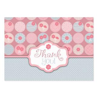 Tag querido 2 do presente da menina TY Cartoes De Visita