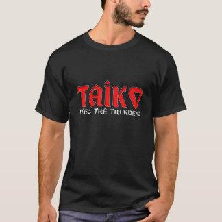 """Taiko """"sensação a camisa escura do trovão"""" T"""