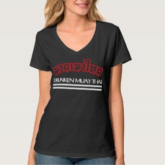 Tailandês de Muay bêbedo Camisetas