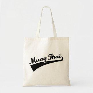 Tailandês de Muay Sacola Tote Budget