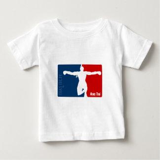 Tailandês de Muay Camiseta Para Bebê