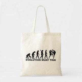 Tailandês de Muay da evolução Sacola Tote Budget