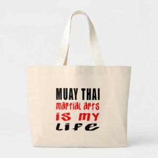 Tailandês de Muay é minha vida Bolsa De Lona