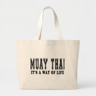 Tailandês de Muay é modo de vida Bolsas De Lona