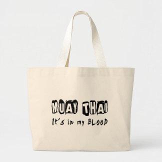 Tailandês de Muay está em meu sangue Bolsas