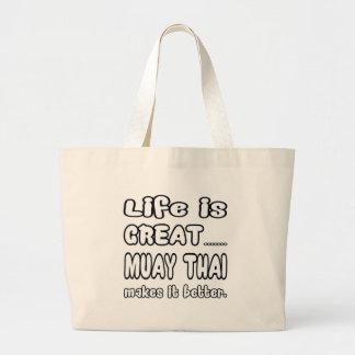 Tailandês de Muay fá-lo melhor Sacola Tote Jumbo