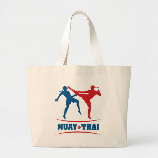 Tailandês de Muay Sacola Tote Jumbo