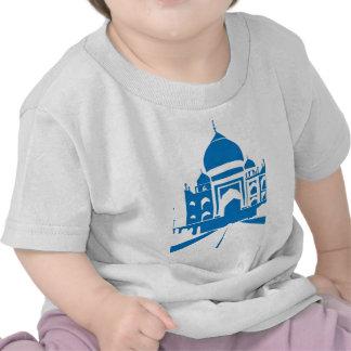 Taj azul Mahal Camiseta