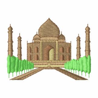Taj Mahal Agasalho Jogger De Lã Bordado