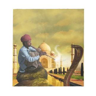 Taj Mahal Bloco De Notas