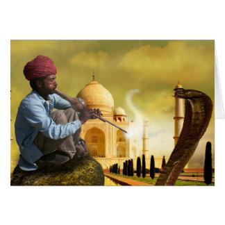 Taj Mahal Cartão