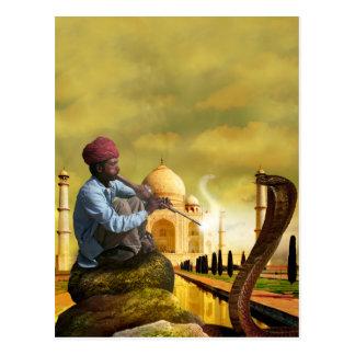 Taj Mahal Cartão Postal