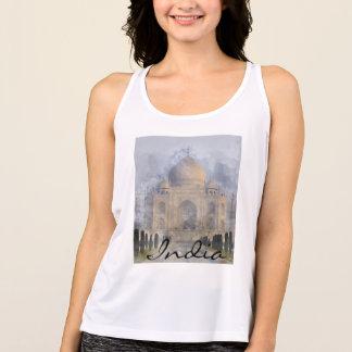Taj Mahal em Agra India - aguarela da arte de Regata