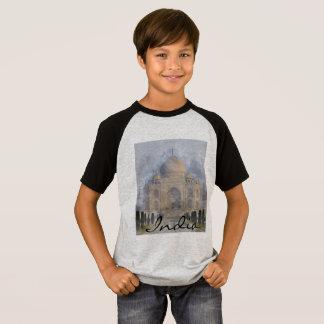 Taj Mahal em Agra India Camiseta