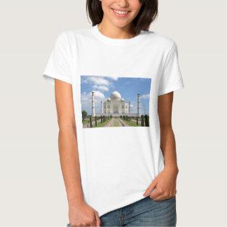 Taj Mahal em Agra India Camisetas