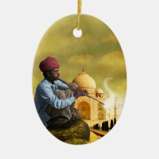 Taj Mahal Ornamento De Cerâmica