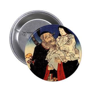 Takeuchi e o imperador infantil botons