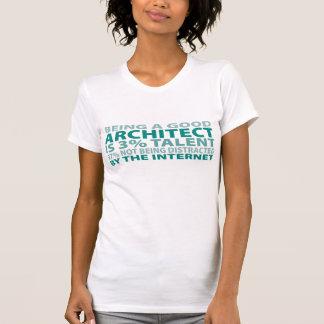 Talento do arquiteto 3 tshirt