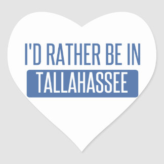 Tallahassee Adesivo Coração