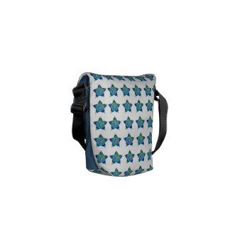 Tamanho: A mini bolsa mensageiro zero do rickshaw