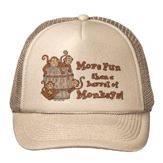 Tambor do chapéu dos macacos boné