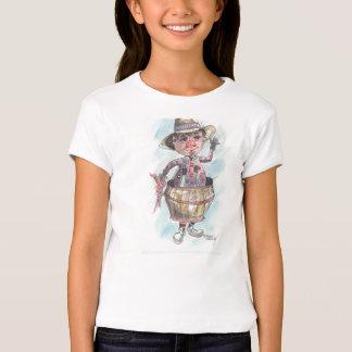Tambor do palhaço camisetas