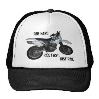 Tampe cores da motocicleta da bicicleta da sujeira boné