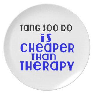Tang Soo faz é mais barato do que a terapia Prato