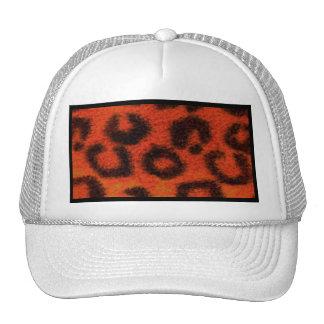 Tangerina manchada do leopardo bonés