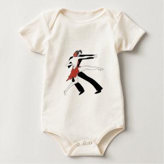 Tango/dança comigo body para bebê