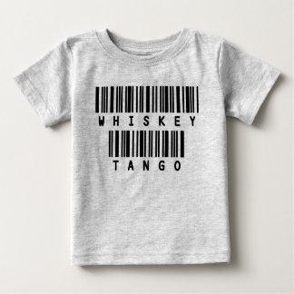 Tango engraçado do uísque da camisa do bebê t dos t-shirts