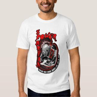 Tanque 2009 espartano de Luau da reunião do poder Tshirt