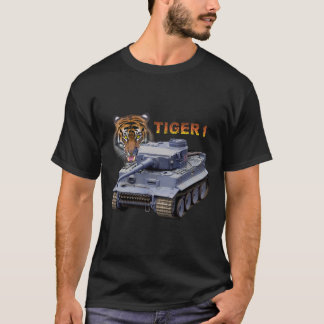 Tanque alemão do tigre 1 camiseta