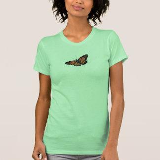 Tanque da borboleta de monarca tshirt