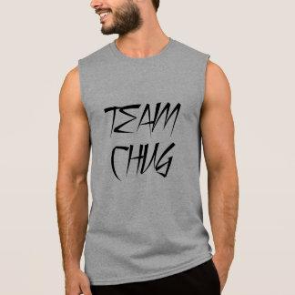 Tanque do Chug da rocha do partido de Bro Camisa Sem Mangas