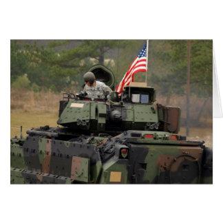 tanque dos EUA Cartão Comemorativo