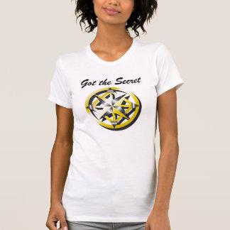 Tanque interno das senhoras do compasso camiseta