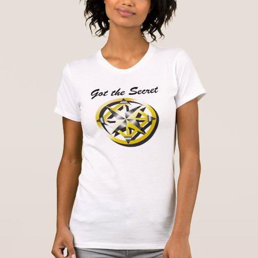 Tanque interno das senhoras do compasso tshirt
