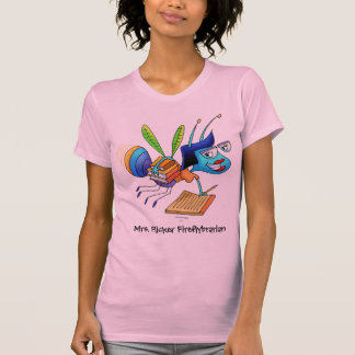 Tanque-parte-Sra. Cintilação Fireflybrarian Camiseta