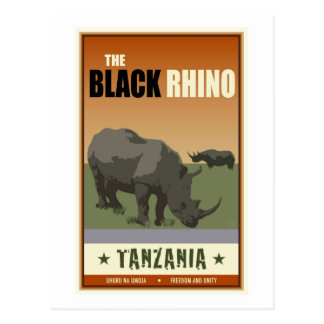 Tanzânia Cartão Postal