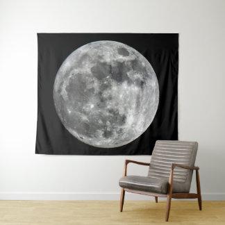 Tapeçaria da parede da lua de Supermoon