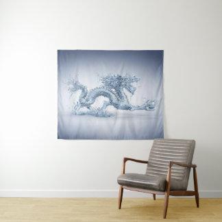 Tapeçaria média da parede do dragão de água