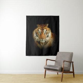 Tapeçaria média da parede do tigre selvagem