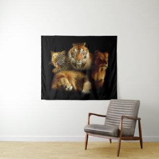 Tapeçaria média da parede dos predadores selvagens