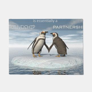Tapete A amizade é essentailly uma parceria