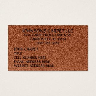 Tapete a Instalação Empresa Cartão De Visitas